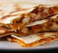 Veggie, Cheese or Chicken Quesadilla